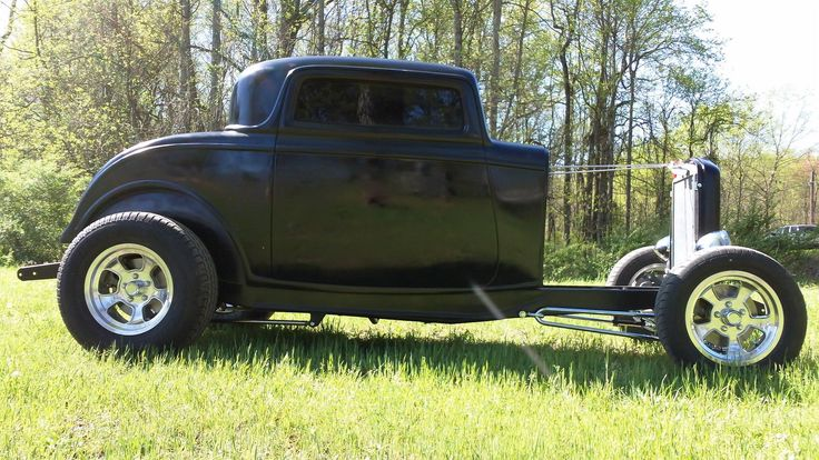 1000 images about american hot rods on pinterest street for 1932 ford 3 window coupe fiberglass body