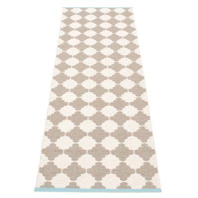 Marre teppe fra Pappelina. Et flott, enkelt og funksjonelt plastteppe produsert i PVC-plast og Polye...
