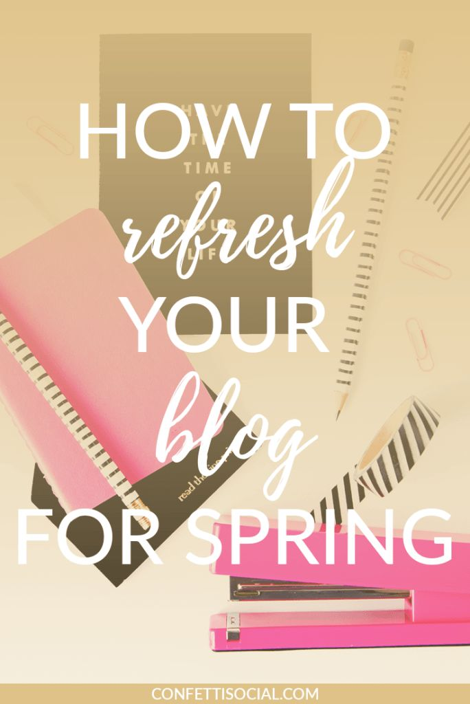 Spring cleaning isn't just for your home - you can spring clean your blog too! Find out several ways to tidy up your blog for the new season.