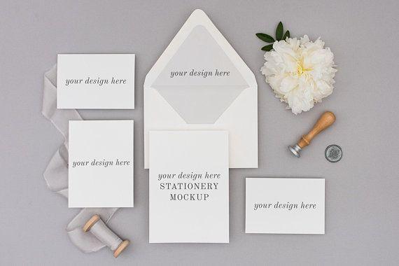 Best Free Stationery Mockup Wedding Invitation Mockup Wedding