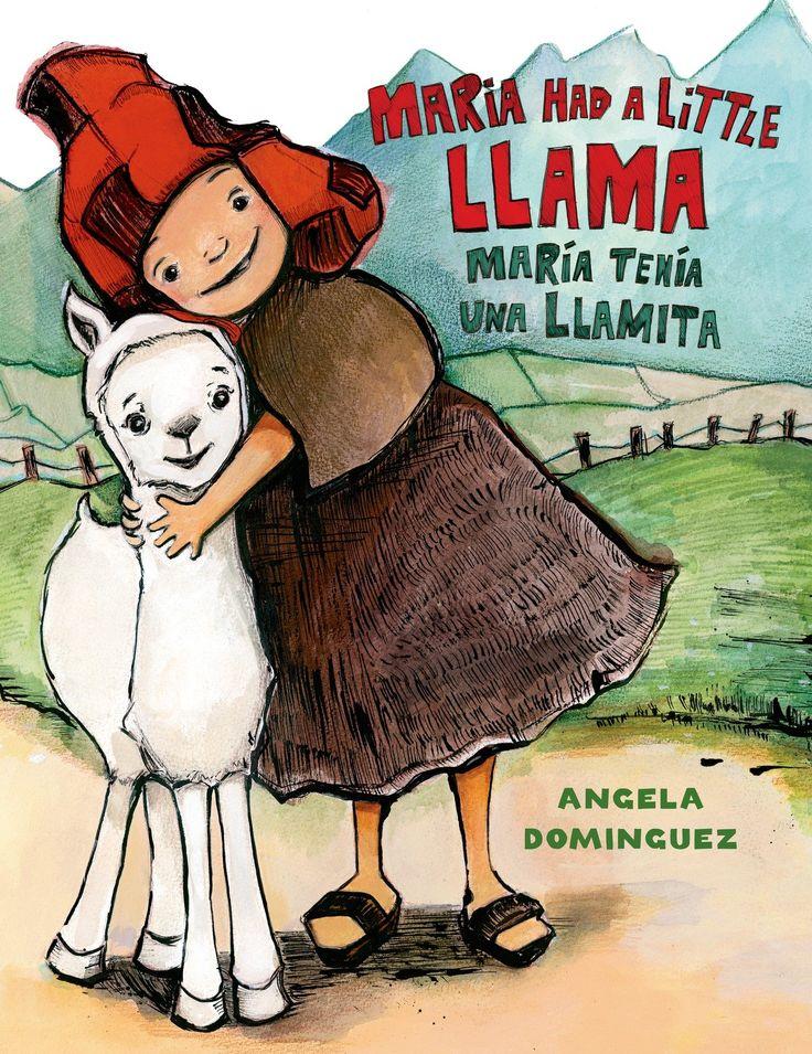 31 Days of Spanish Books for Kids-María Tenía una Llamita (A Hispanic version of Mary Had a Little Lamb.)