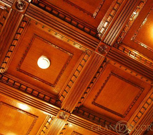 Деревянный потолок Гейнсборо | grandecor.ru