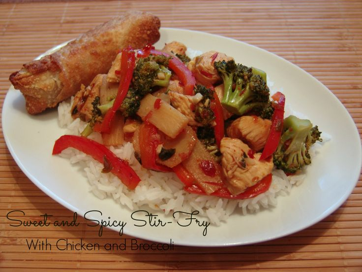 Sweet and Spicy Stir-Fry with Chicken and Broccoli #AllrecipesAllstars ...