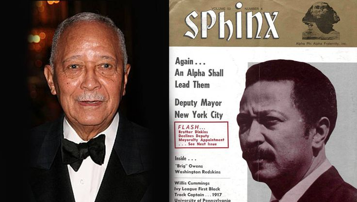The First Black Mayor of New York, David Dinkins, Is a Member of Alpha Phi Alpha | Click on the image to read his story, or just follow this URL: https://www.watchtheyard.com/alphas/david-dinkins-alpha-phi-alpha/