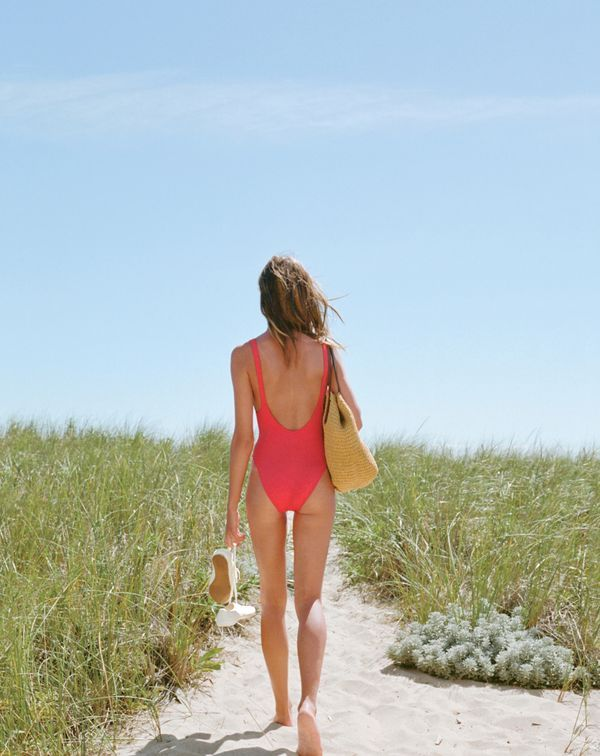 You book the tickets. We'll take care of everything else. Shop the most amazing J.Crew women's swimsuits, rash guards, beach cover-ups, chinos and sandals this side of the equator at jcrew.com.