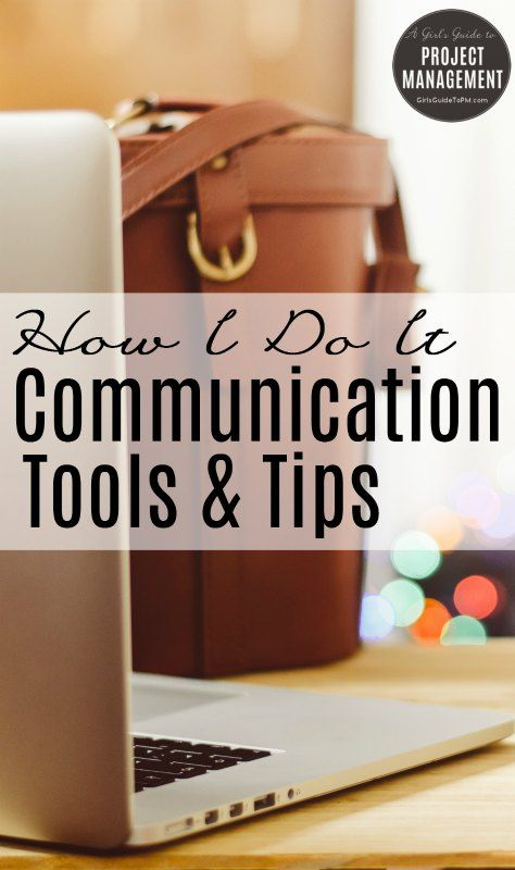 Stakeholder communication tools and tips