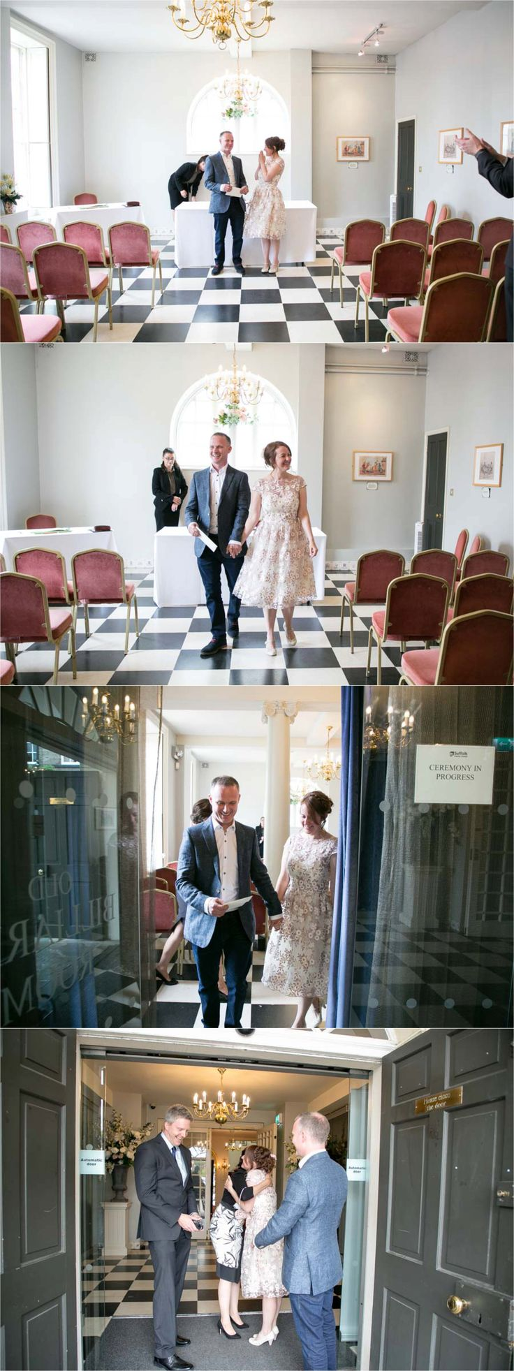 elopement wedding photography at the athenaeum in Bury St Edmunds