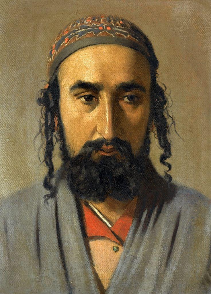 Vereshchagin, Vasily Vasilievich - Portrait of a Jewish Merchant | Flickr - Photo Sharing!