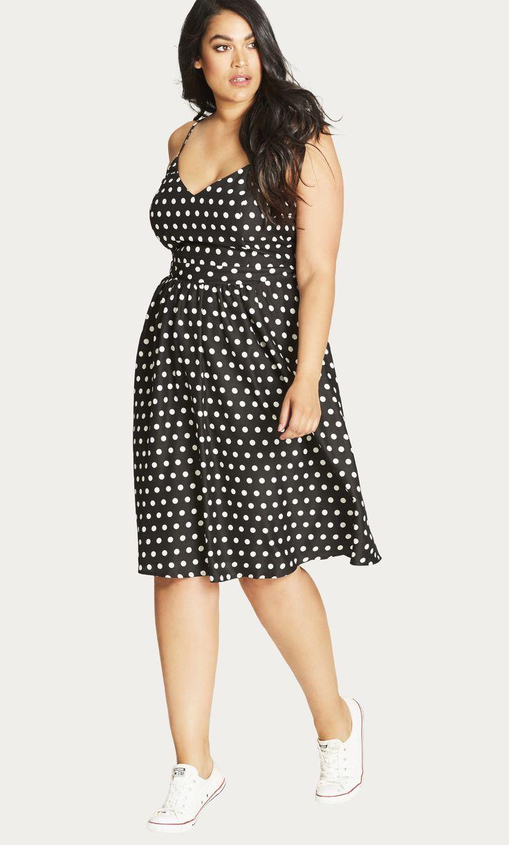 Shop Women's Plus Size  Cute Girl Plus Size Dress - Dresses | City Chic USA