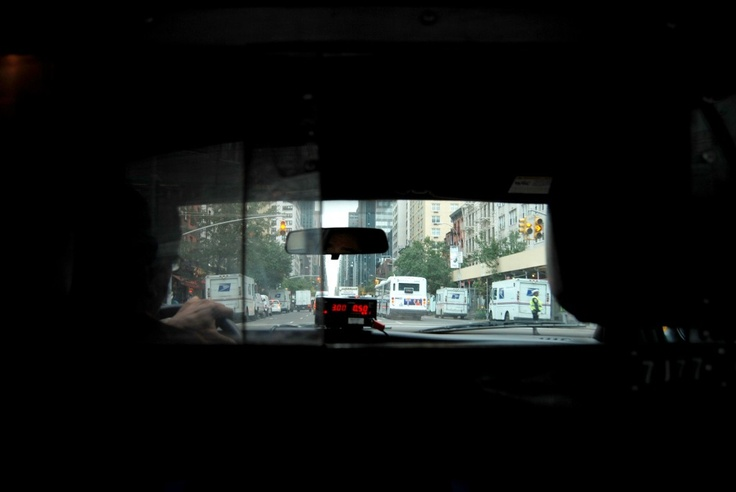 Can you remember your first ever taxi ride in NY ? I can...