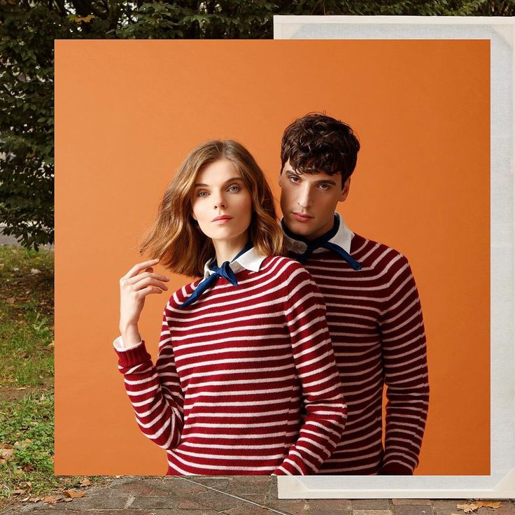 Monday outfit in the city!  #120percento #outfit #womanswear #couple #fashion #shooting #120cashmere #stripes #cashmere #sweater #milano #shopping #store #menswear #look #elegant #monday #mood #ootd #120