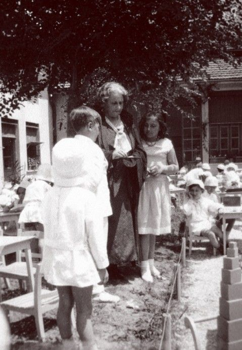 07 Maria Montessori with Children