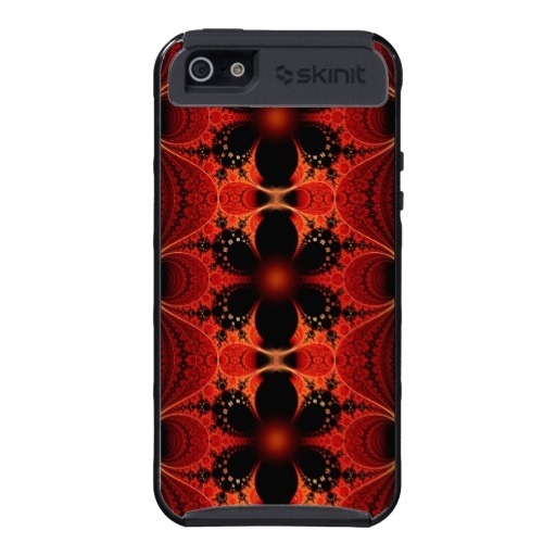#Floral Ribbon #Abstract #Fractal #Art Skinit Cargo Case For #iPhone 5 $52.90
