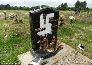 Muslim graves have been defaced with racist graffiti in the latest case of far-right attacks. Vandals sprayed swastikas, 'Lee Rigby murder', and 'white power' on four tombstones in the Muslim area of a cemetery in Newport, South Wales, on Saturday night. They signed their work with initials of the British National Party (BNP), the UK [...]