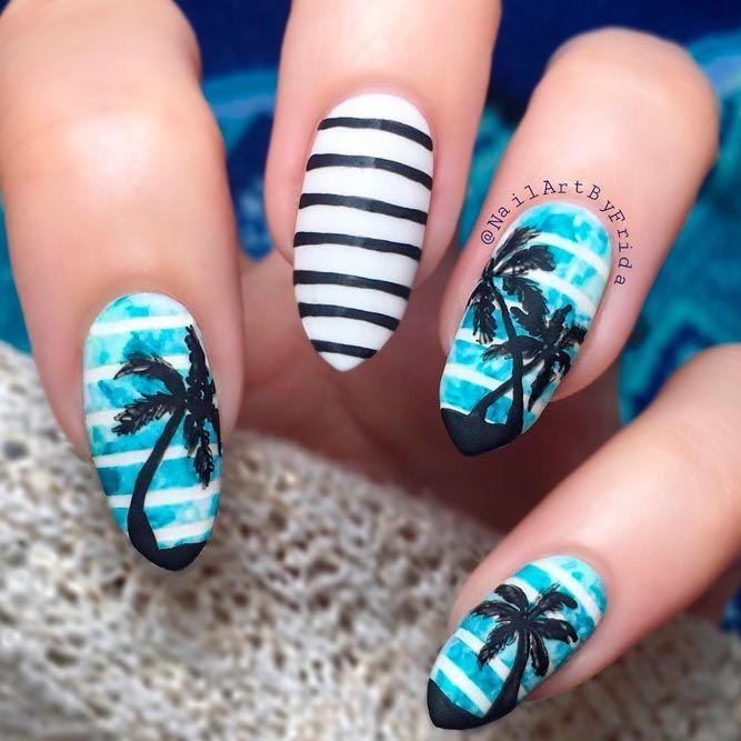 25+ Trending Tropical Nail Designs Ideas On Pinterest