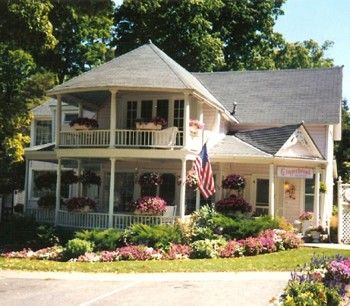 35 best images about bed breakfast to visit on pinterest for Cottage builders in michigan