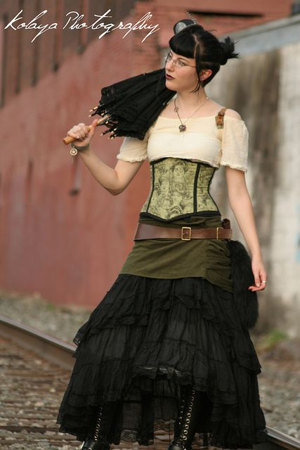 : Kolaya Photography, Color Progress, Beautiful Steampunk, Steampunk Outfit, Flickr Cosplay, Awesome Costumes, Steampunk Girl, Steampunk Dresses, Steampunk Cosplay