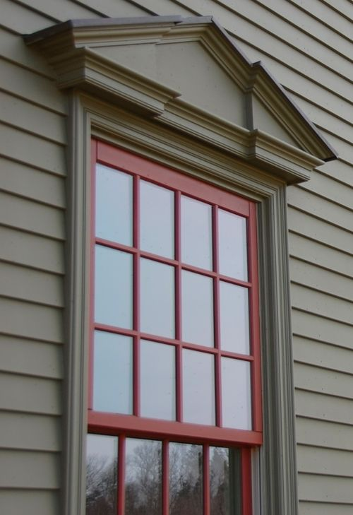350 best house images on pinterest saltbox houses stone for Colonial window designs