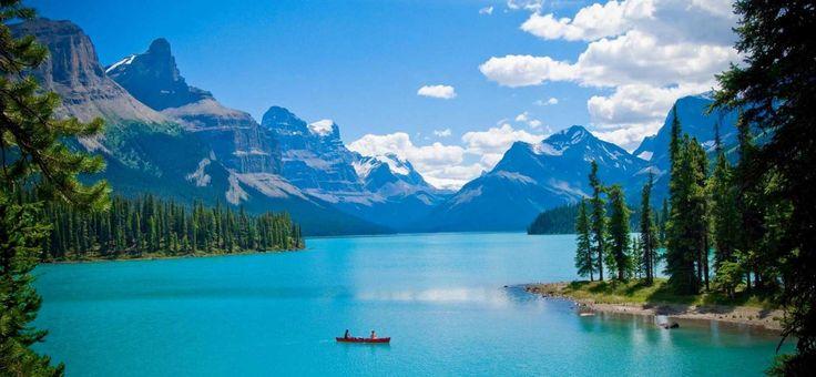 Il Jasper National Park è il più grande parco nazionale delle Montagne Rocciose Canadesi e si estende nella provincia dell'Alberta in Canada