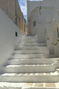 Lanes in the Chora of Serifos.
