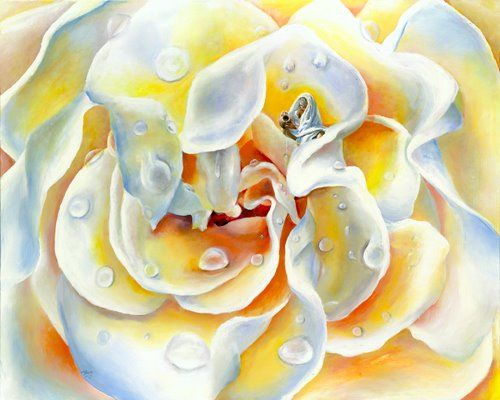 """Akiane titled this painting """"Blessings"""". What a wonderful way to see. Opens my eyes. http://www.facebook.com/akianeart"""
