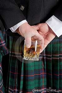 Oh the scots...They'll enjoy their Glen Morangie or glen Livet or Oban whisky way............into the evening.