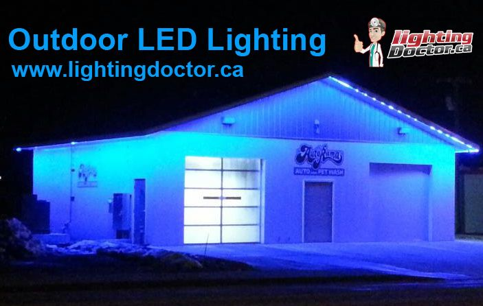 LED lights are energy-efficient, long-lasting, and today's versions are available in just about every color of the rainbow. These features make them ideal for outdoor use. Here are some great ideas about using LED lights outside. #OutdoorLEDLighting #LandscapeLighting #CalgaryLighting #SaveEnergy #Calgary #Alberta #Canada www.lightingdoctor.ca