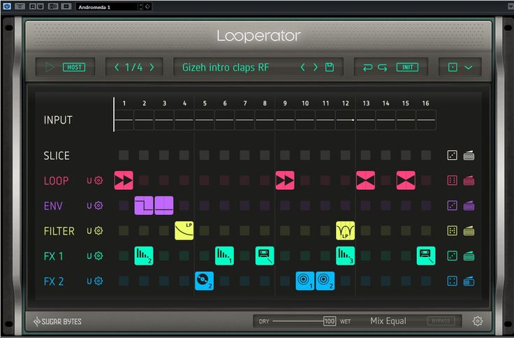 For review today, we have Sugar Bytes Looperator. Sugar Bytes is a German company, well known for their plugins Effectrix, Wow2, Turnado & many more. Looperator is a very creative tool that giv...