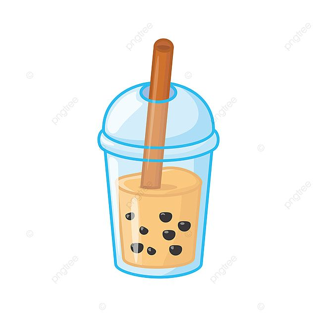 Tea Vector Illustration With Cute Design Isolated On White Background Dessert Clipart Drink Thai Png And Vector With Transparent Background For Free Download Vector Illustration Cute Designs White Background