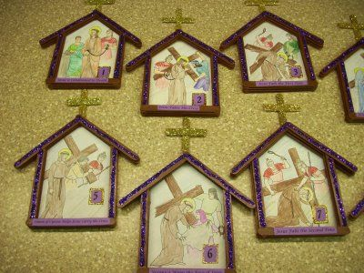 Lent Creative Prayer Craft Ideas