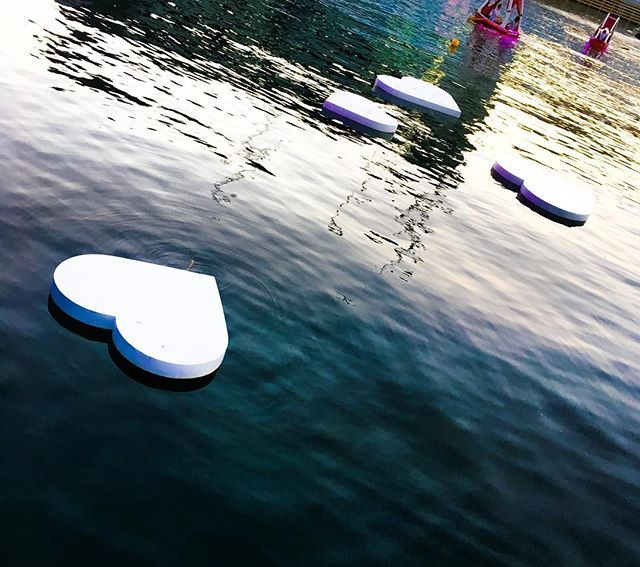 #darlingharbour #sydney #heart #floating #ocean #romance #bluewater #australia #love #valentine #spottedinsydney