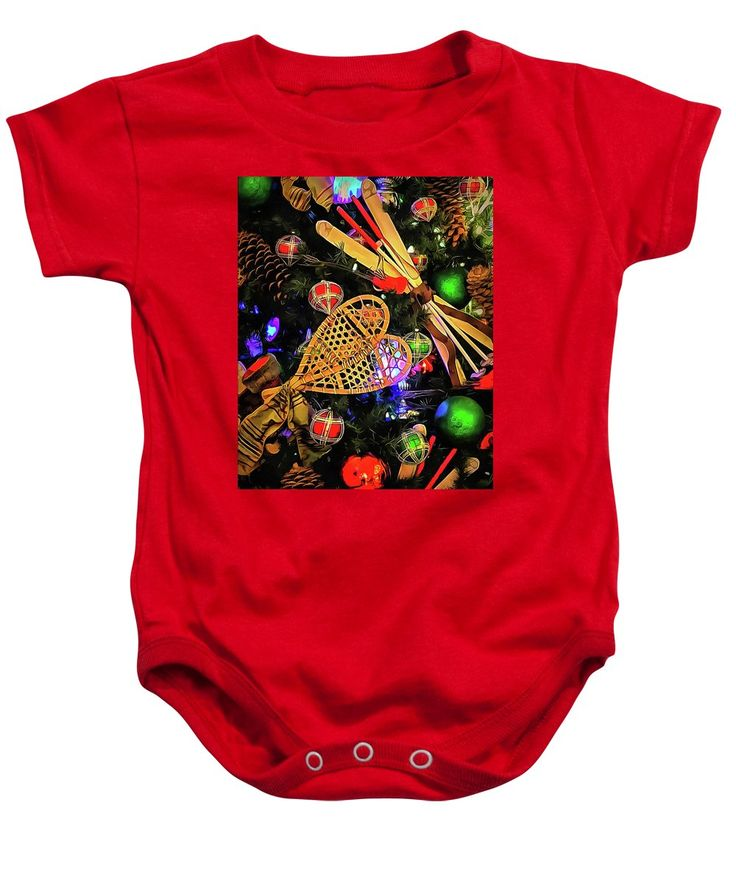 Purchase a baby onesie featuring the image of Joyeux Noel  by Leslie Montgomery.  Available in sizes S - XL.  Each onesie is printed on-demand, ships within 1 - 2 business days, and comes with a 30-day money-back guarantee.