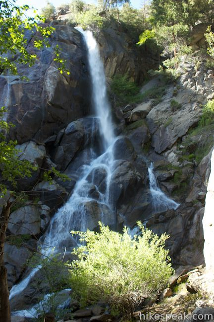 Grizzly Falls in Sequoia National Forest, California