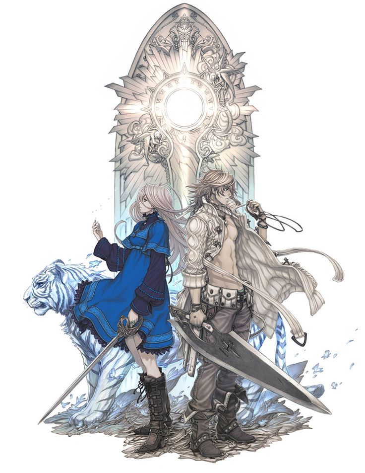 - Pictures & Characters Art - The Last Story