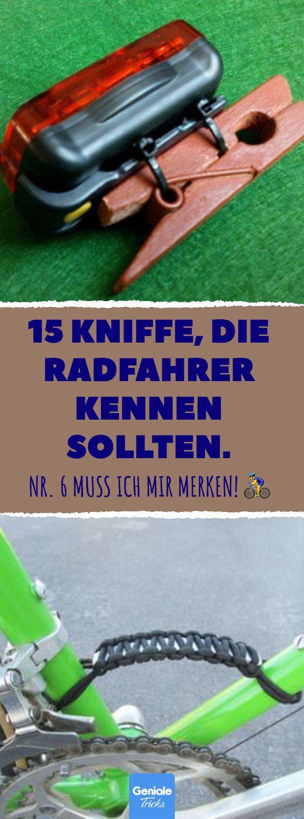 15 Kniffe, die Radfahrer kennen sollten. 15 Tipps,…