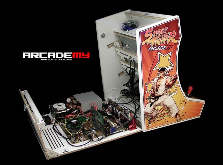 les 25 meilleures id es de la cat gorie borne d arcade sur pinterest jeux d 39 arcade borne. Black Bedroom Furniture Sets. Home Design Ideas