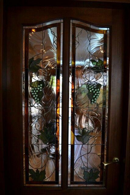 Виноград. Дверь. #stanedglass #chagooch #витраж