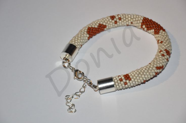Bead Crochet Bracelet - for cats lovers :-)