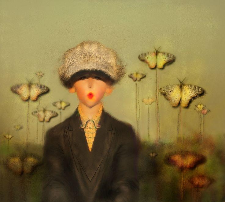 """""""Patryk w kwiatach"""" Maria Fior"""