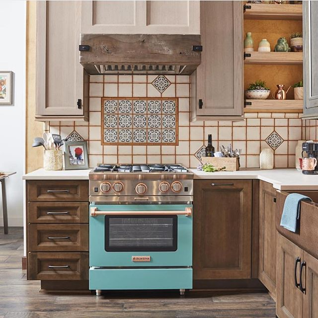 Build Your Own Custom Kitchen Appliances Bluestar Custom Kitchen Appliances Kitchen Design Color Copper Kitchen Decor