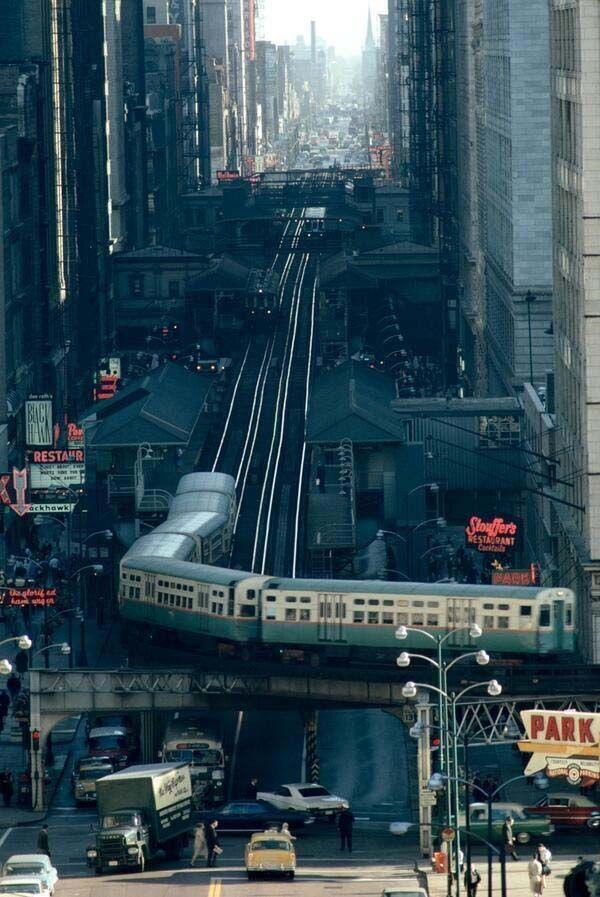 memories...Chicago 1967...the L!