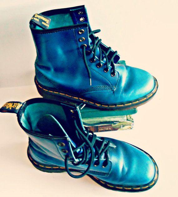 Vintage Combat Boots  Vintage Punk Grunge Doc by ConstantlyAlice, $68.00