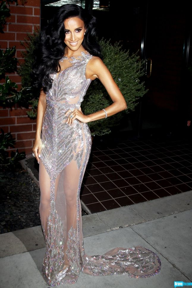 lilly ghalichi sheer dress | While always stunning ...