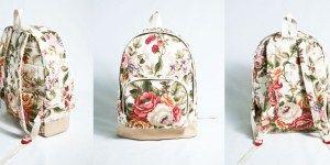 Как сделать стильный рюкзак своими руками?
