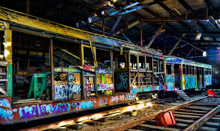 Tram shed by Kutay Photography / 500px