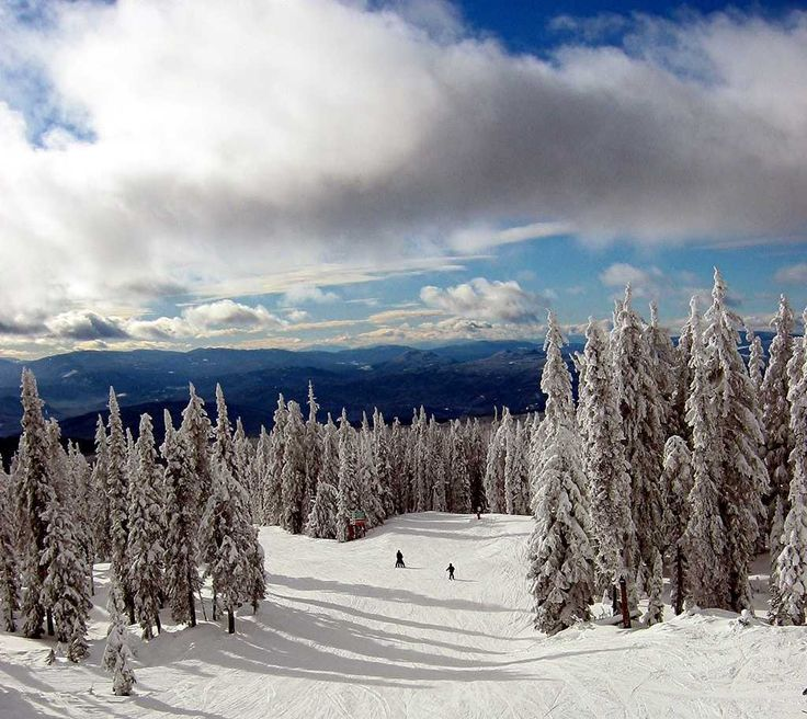 Big White Ski Resort near Kelowna, BC ♥ Loved and pinned by www.ductworks.ca