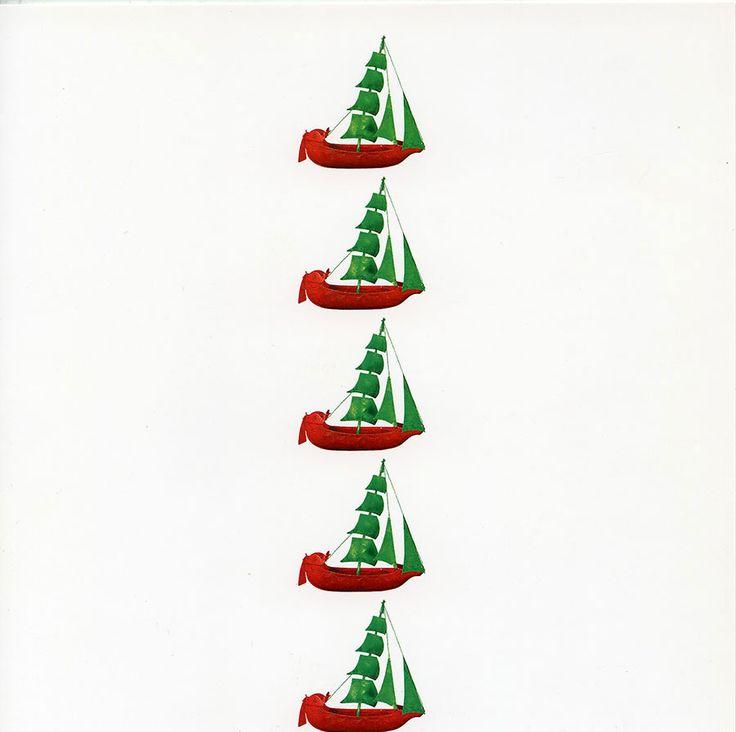 Christmas Card - Sailing Ship. ATHENS – BENAKI MUSEUM – SAILING SHIP. DESIGN COMMON SENSE FROM A SILVER GILT EX-VOTO. 19th c. Text card: blank