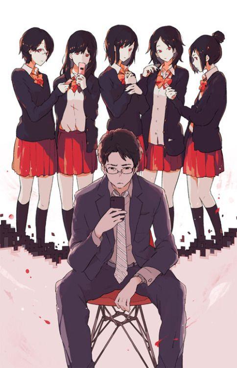 小学館『自殺志願』(著:野島伸司 ) 装画 Official cover illustration for the novel published by Shogakukan Inc.