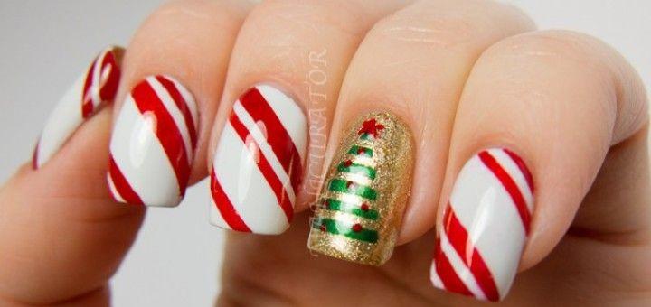 cute christmas nails 2015 - Google Search
