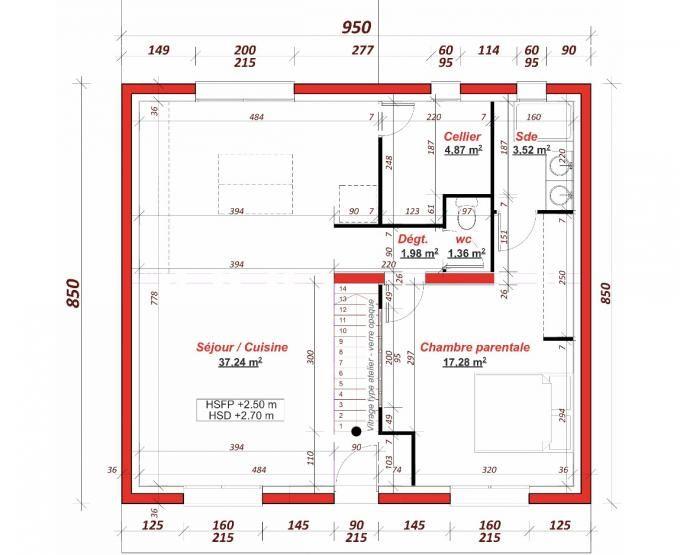 47 best images about plans de maisons on pinterest dressing mars and 102 - Cuisine darty modele sorbonne ...
